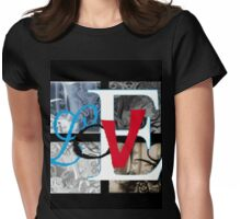 AT LAST Womens Fitted T-Shirt