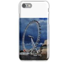 London Eye Ferris Wheel iPhone Case/Skin