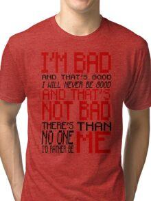 Bad Anon - Wreck-it Ralph Tri-blend T-Shirt