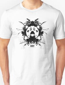 Kirby Ink Blot Geek Psychological Disorders T-Shirt