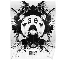 Kirby Ink Blot Geek Psychological Disorders Poster