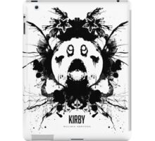 Kirby Ink Blot Geek Psychological Disorders iPad Case/Skin