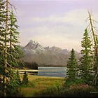 Jackson Lake - Grand Teton National Park by Rich Summers