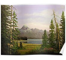 Jackson Lake - Grand Teton National Park Poster