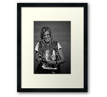 Top Gun Portrait Framed Print