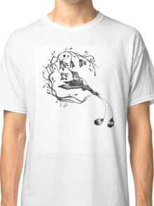 Booted racket-tail hummingbird Classic T-Shirt