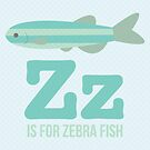 Z is for Zebra Fish by Amy Huxtable