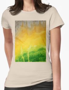 Stormy Mesa original painting Womens Fitted T-Shirt