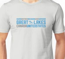 "Great Lakes ""HOMES"" Unisex T-Shirt"