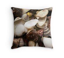 Shells Galore Throw Pillow