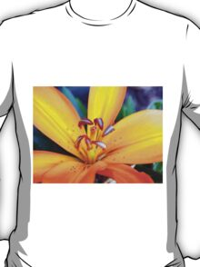 Orange Day Lilly T-Shirt
