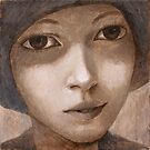 Girl with hat. by ipalbus-art