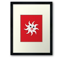 Funny Starfish Framed Print