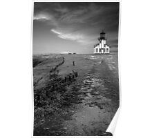 Point Cabrillo Lighthouse - Mendocino, California Poster