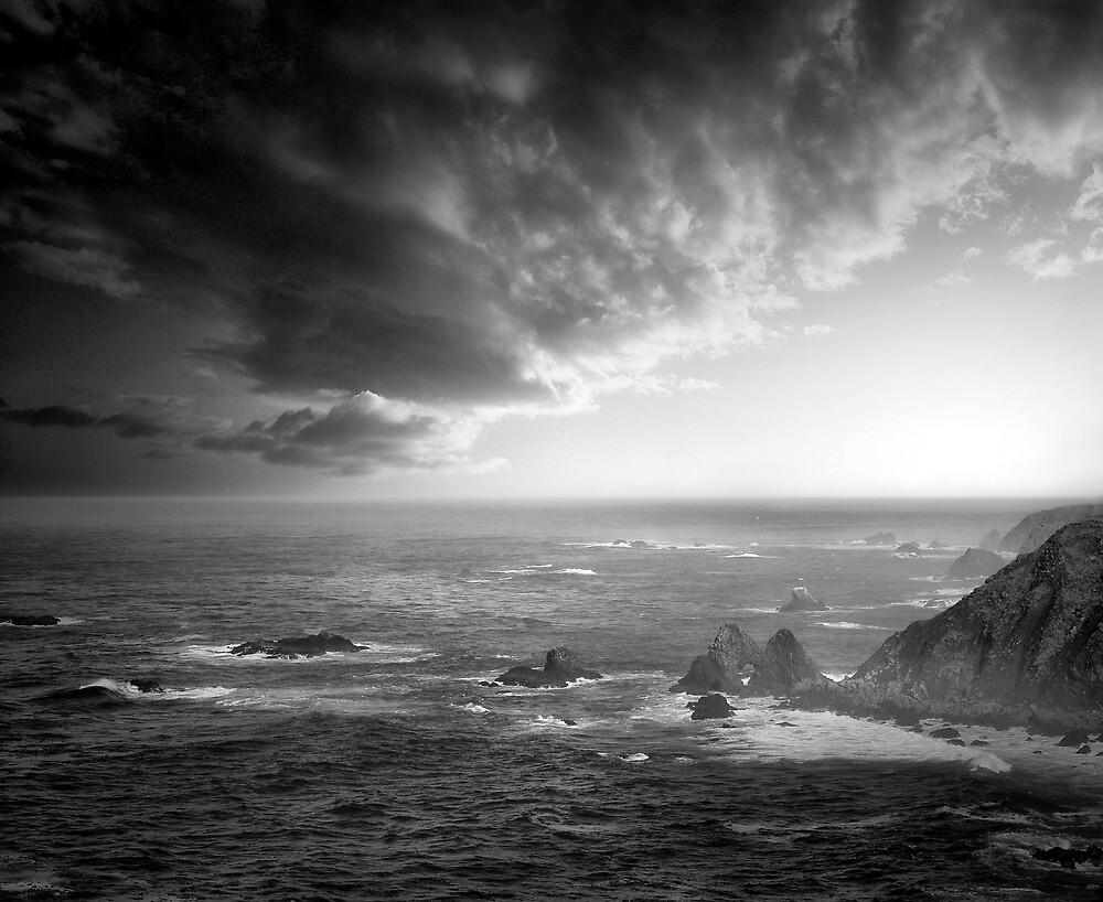 Mendocino Coastal View & Clouds by Richard Mason