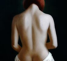 Nude seen from the back. by ipalbus-art