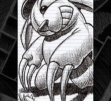 The Bunny with Claws by Mike Cressy