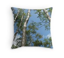 From Below Throw Pillow