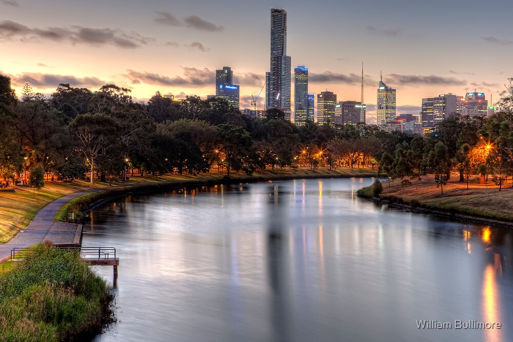Melbourne • Victoria • Australia by William Bullimore