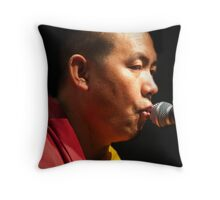 Dalai Chant Throw Pillow