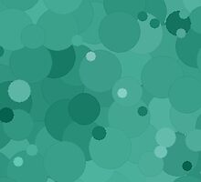 Lucite Green Bubble Dot Color Accent by SaraValor
