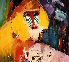 monkeys by Ria den Breejen