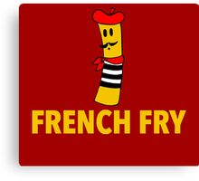 French Fry Canvas Print