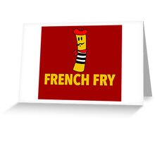 French Fry Greeting Card