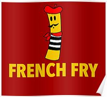French Fry Poster