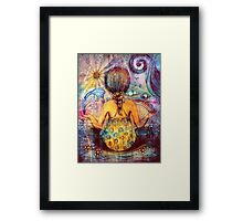 Rainbow Meditation Framed Print