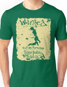 Wanted - Evil Dr. Porkchop T-Shirt