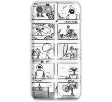 Wall-E Storyboard iPhone Case/Skin