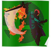 Roy (Smash 4, Green Costume) - Sunset Shores Poster