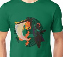 Roy (Smash 4, Green Costume) - Sunset Shores Unisex T-Shirt