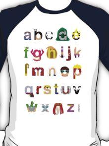 Marvelphabet Villains T-Shirt