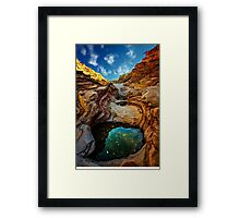 Ernst Canyon, Big Bend Framed Print