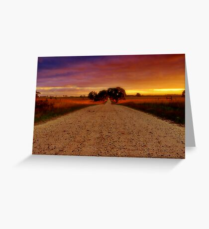 """Southbound"" Greeting Card"