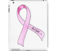 Pink Ribbon Hope iPad Case/Skin