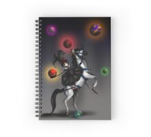 At the Carnivale Spiral Notebook