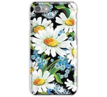flower design drawstring bas iPhone Case/Skin