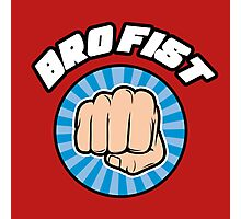 Bro Fist Photographic Print