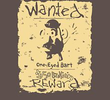 Wanted - One-Eyed Bart T-Shirt
