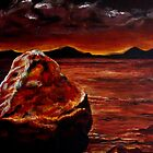 Wet Burning Rock by fiko