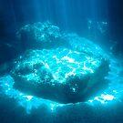 Blue Cave diving Vanuatu 3 by frenzix