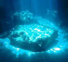 Blue Cave diving Vanuatu 3 by frenzix