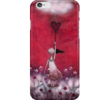 loVe protects me iPhone Case/Skin