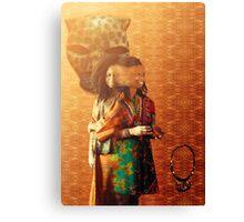 ìbojú ìparadà (Mask) Canvas Print