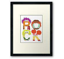 "A Fraggle ""ROCK"" Framed Print"