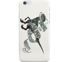 Coey: Blue for Alpha, Jurassic World iPhone Case/Skin