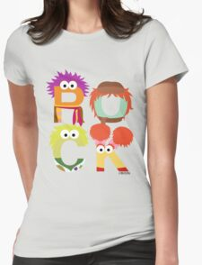 """A Fraggle """"ROCK"""" Womens Fitted T-Shirt"""